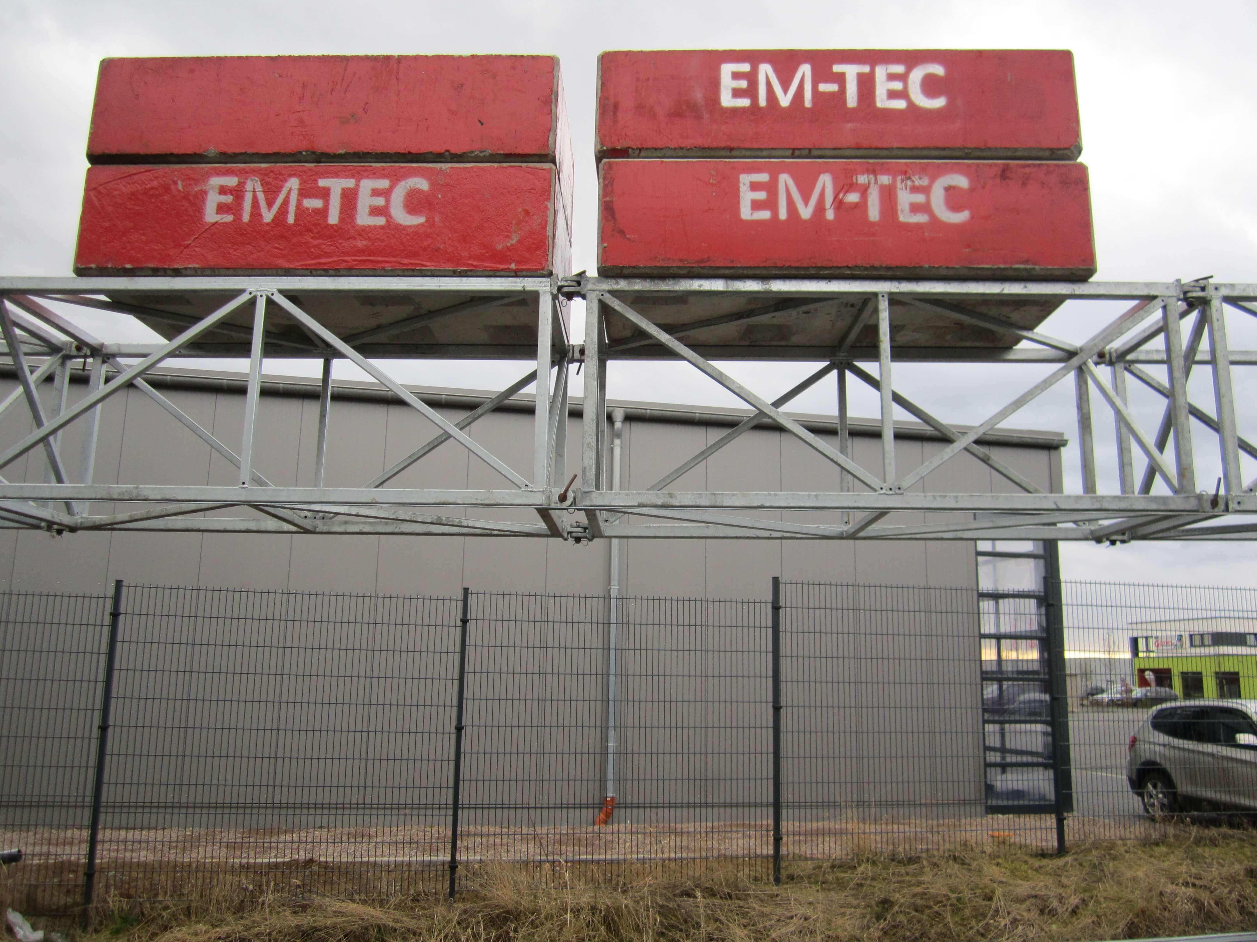 System Em-Tec Feldversuch